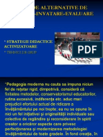 strategii de invatare activizatoare
