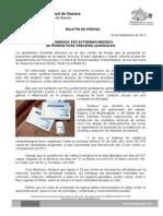 24/09/13 Germán Tenorio Vasconcelos recomienda Sso Extremar Medidas de Higiene Para Prevenir Candidiasis