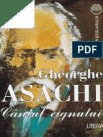 Asachi Gheorghe - Cantul Cignului (Tabel Crono)