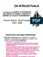 1.EDUCATIA INTELECTUALA