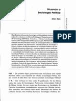Situando a Sociologia Política- Elisa Reis
