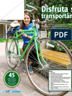 Disfruta su ciudad transportándose en bici (Soy Tec, Sept2013)