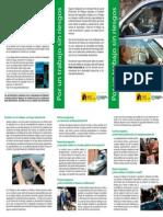 folleto conducir
