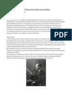 El Idealismo en Las Relaciones Internacionales.