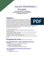 TEMAS DE LA Programación Distribuida y Paralela