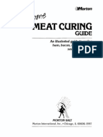 Morton Salt Div. of Morton Thiokol-Home Meat Curing Guide -Morton Salt Div. of Morton Thiokol (1988)