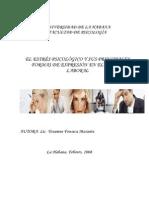 El Estres Psicologico y Sus Principales Formas de Expresion en El Ambito Laboral