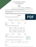 Teste Diagnostico - Funções