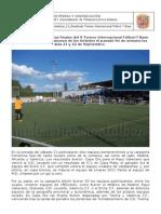 NOTA DE PRENSA DE 24 SEPTIEMBRE_13_ Resultado Torneo Internacional Fútbol-7 Base