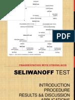 Seliwanoff Test