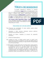 Deuda Publica de Honduras