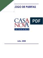 Catálogo dePuertas - CASANOVA