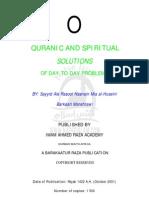 Quranic Spiritual Solutions