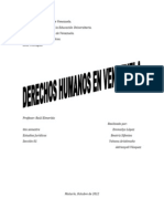 Derechos Humanos en El Mundo Occidental