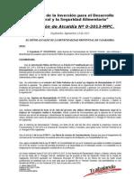 Res de Nulidad de Oficio de Licencia de Funcionamiento Empresa Andino y Asociados