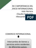 Definicion e Importancia Del Comercio Internacionals