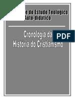 CRONOLOGIA DA HISTÓRIA DO CRISTIANISMO