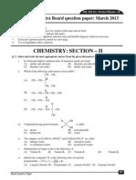 Hsc Chemistry II Board Paper 2013