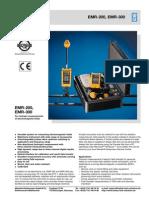 Prilog3 - Karakterisitke Mernog Uredjaja W&G EMR-300