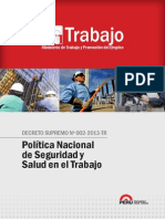 Politica Nacional SST