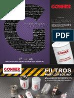 Filtros Gonher Gasolina 2012