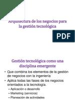 Arquitectura de los negocios para la gestión tecnológica (6)