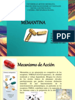 Memantina Expo Farmacologia