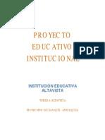 Proyecto E_ Institucional