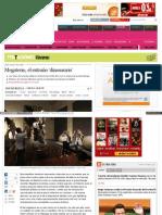 Megaterio, en El País (2013)