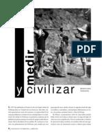 Medir y Civilizar