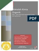 Makalah PBL 4 Kimia Organik kelas Ibu Eny Kusrini FTUI