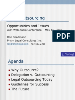 Legal Outsourcing - ALM Webinar - May