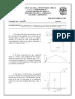 examen fisica UNAM