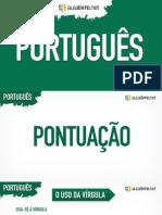 Português - Aula 11 - apresentacao-pontuacao