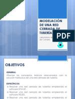 MODELACIÓN DE UNA RED CERRADA DE TUBERÍAS