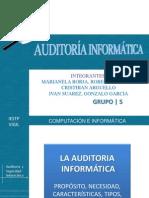 Pasos de Una Auditiria Informatica
