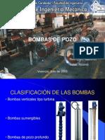 Exposición Bombas de Pozo