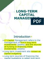 Long-Term Capital Financing