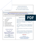 Boletín Bibliográfico FBH  No  66 - Julio-Agosto de 2013