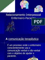Relacionamento Interpessoal Enfermeiro-Paciente_PPT