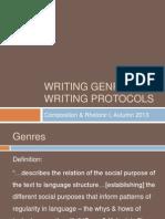 Genres & Rhetorical Situations