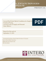 Fremont-Full Market Report( Week of Sep 23, 2013)