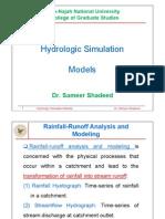 4644Hydrologic Simulation Models