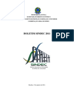 SINDEC_Boletim_2011
