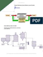 Diagrama Bloques Sistemas Lazo Abierto y Lazo Cerrado
