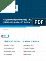 Pmbok 5th Edition