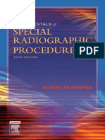 Fundamentals of Special Radiographic Procedures Snopek Fundamentals Of