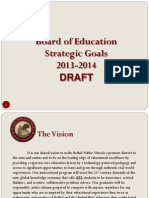 Bethel 2013-14 Education Goals