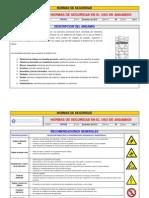 FNS 022 Normas de Seguridad en El Uso de Andamios