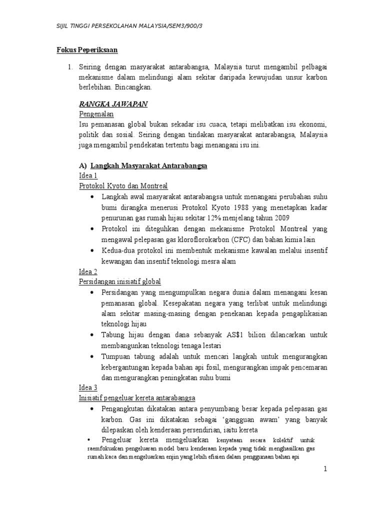 Nota Pengajian Am Sem3 Karangan Dan Esei 4